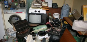 Почистване и изхвърляне на битови отпадъци на сметище