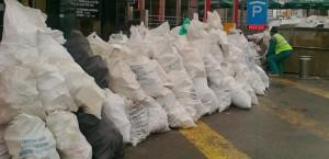 Събиране изнасяне и изхвърляне на отпадъци